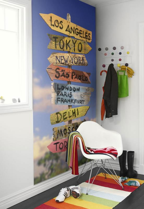 Travel signs wallpaper